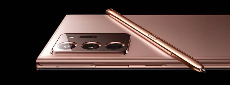 Galaxy Note 20 e Note 20 Ultra são anunciados