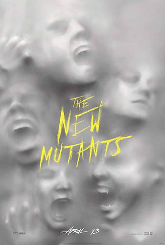 Cartaz Novos Mutantes