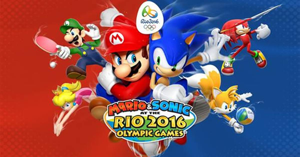 Super Mario Bros - Mario & Sonic at the Rio 2016 Olympic Games é anunciado pela Nintendo - The Enemy
