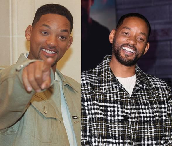 Will Smith antes e depois