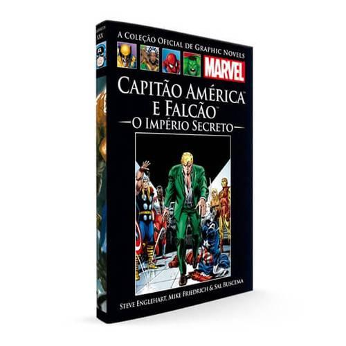 Capa da HQ Capitão América e Falcão: Império Secreto