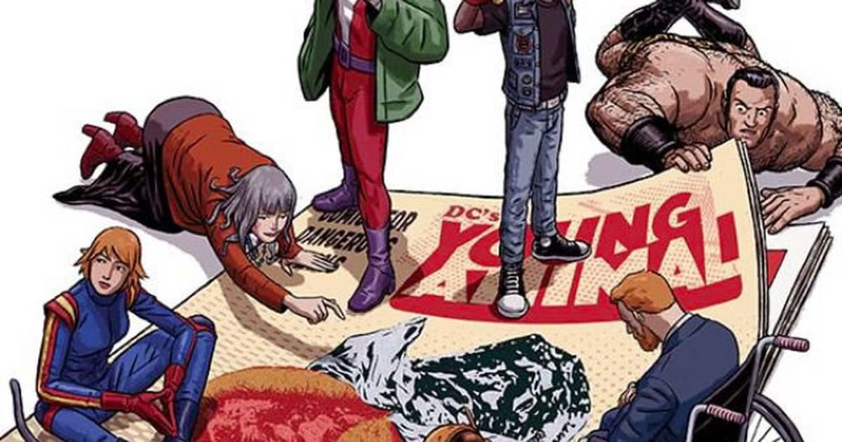 Patrulha do Destino | Veja a primeira capa da HQ de Gerard Way na DC