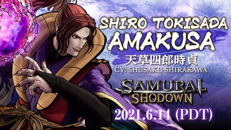 Samurai Shodown Shiro Tokisada Amakusa