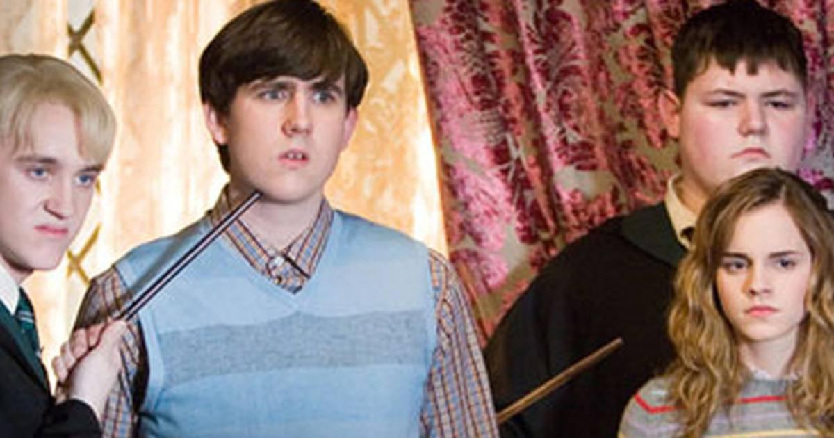 "Harry Potter | JK Rowling celebra ""briga"" entre Tom Felton e Matthew Lewis no Twitter"