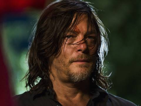 Norman Reedus em The Walking Dead/Gene Page/AMC