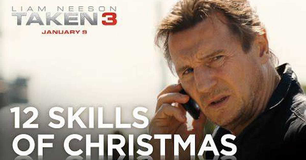 Busca Implacável 3 | Primeiro comercial lista todas as habilidades de Liam Neeson