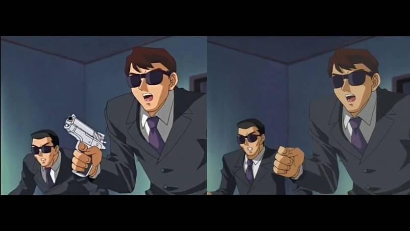 Yu-Gi-Oh! censura armas