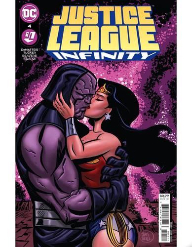 Darkseid e Mulher-Maravilha em capa de HQ da DC