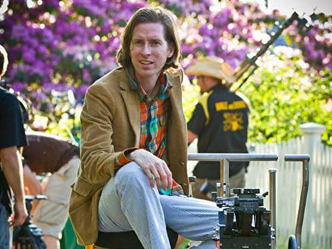 Wes Anderson no set de Moonrise Kingdom/Niko Tavernise/Focus Features/Divulgação