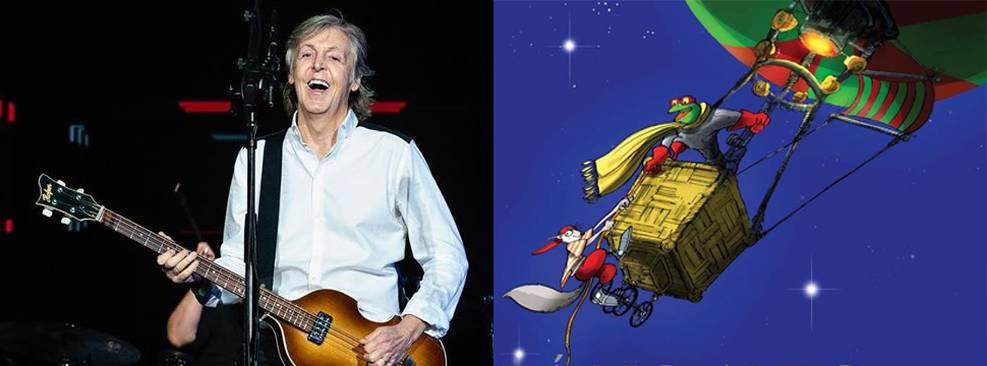 Lá no alto das Nuvens, livro de Paul McCartney, ganhará animação na Netflix
