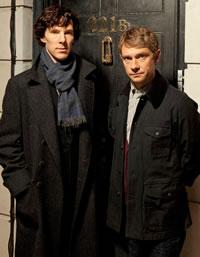 """Кто не в курсе - речь о новом британском телесериале Марка Гэтисса и Стивена Моффэта  """"Шерлок """" (2010), который."""