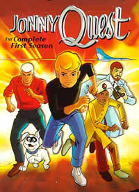 jonny quest Desenho   Jonny Quest 1ª Temporada Completa Dublado