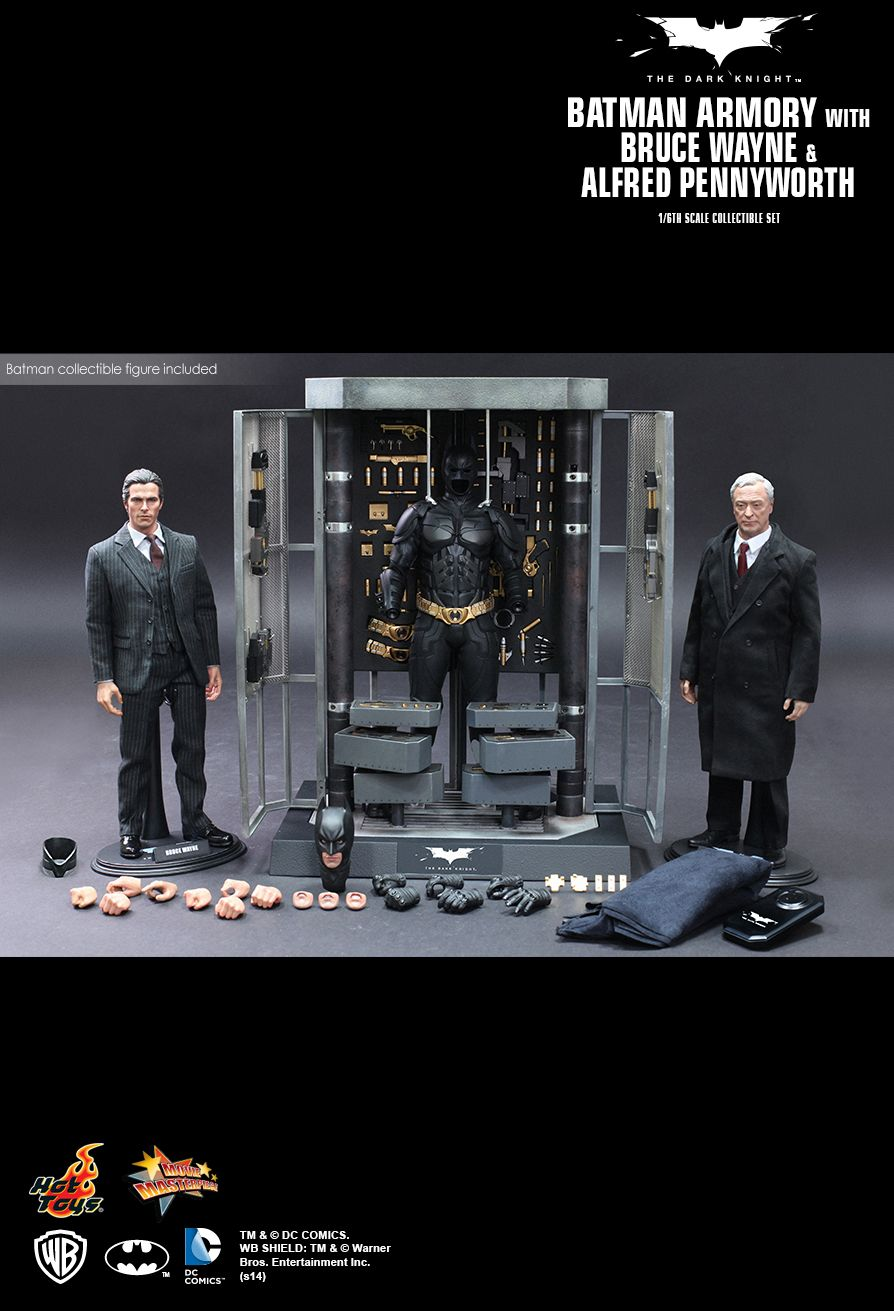 Batman O Cavaleiro das Trevas Hot Toys 21