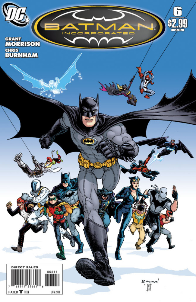 Corporacao Batman por Grant Morrison