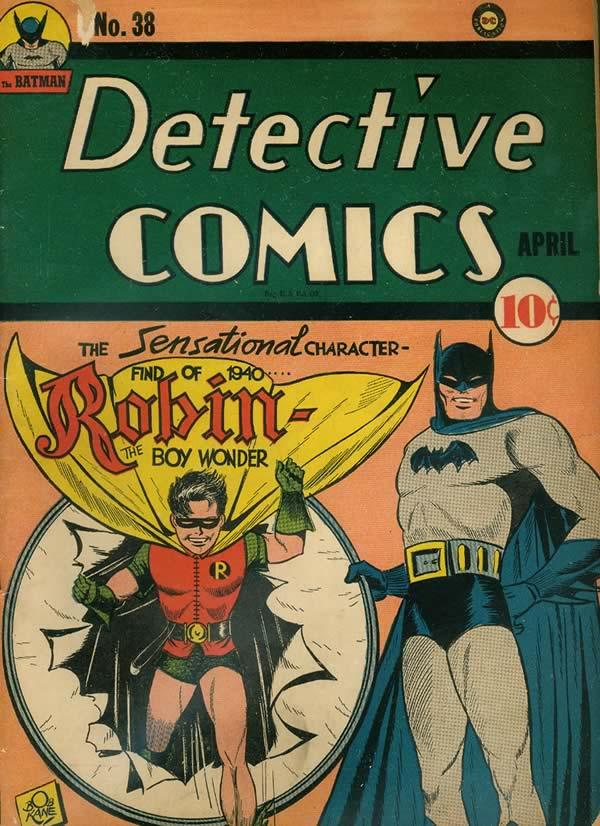 Detective Comics 38 apresenta o Robin