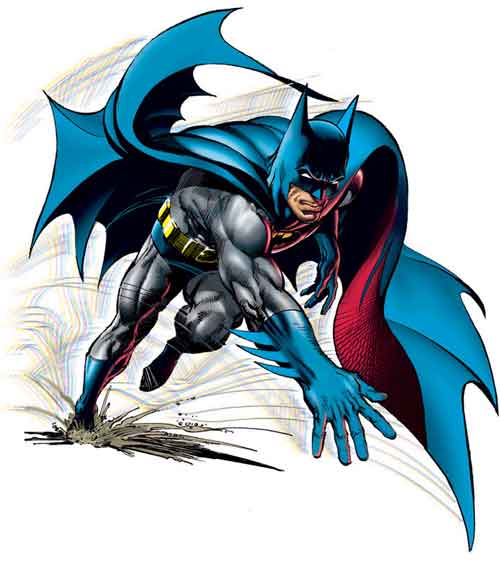 Neal Adams revoluciona o estilo de Batman em 1970