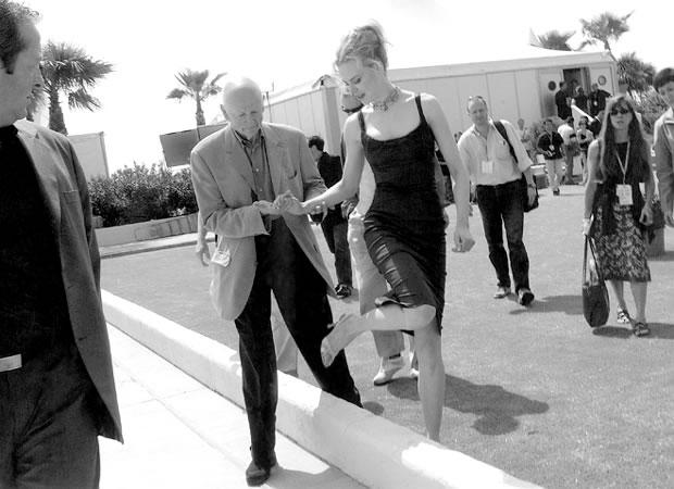 Gilles Jacob e Nicole Kidman