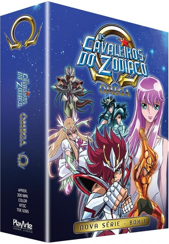 Cavaleiros do Zodiaco Omega box