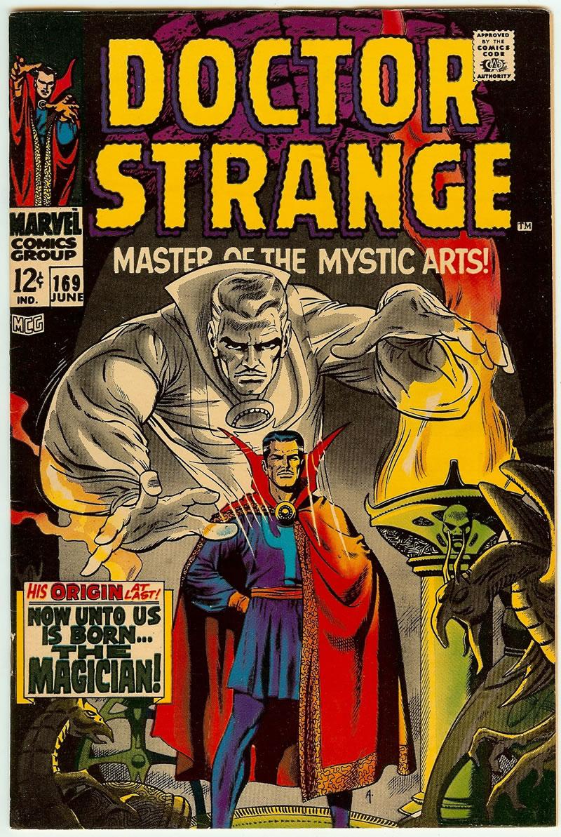 Doctor Strange 169 primeira edicao solo