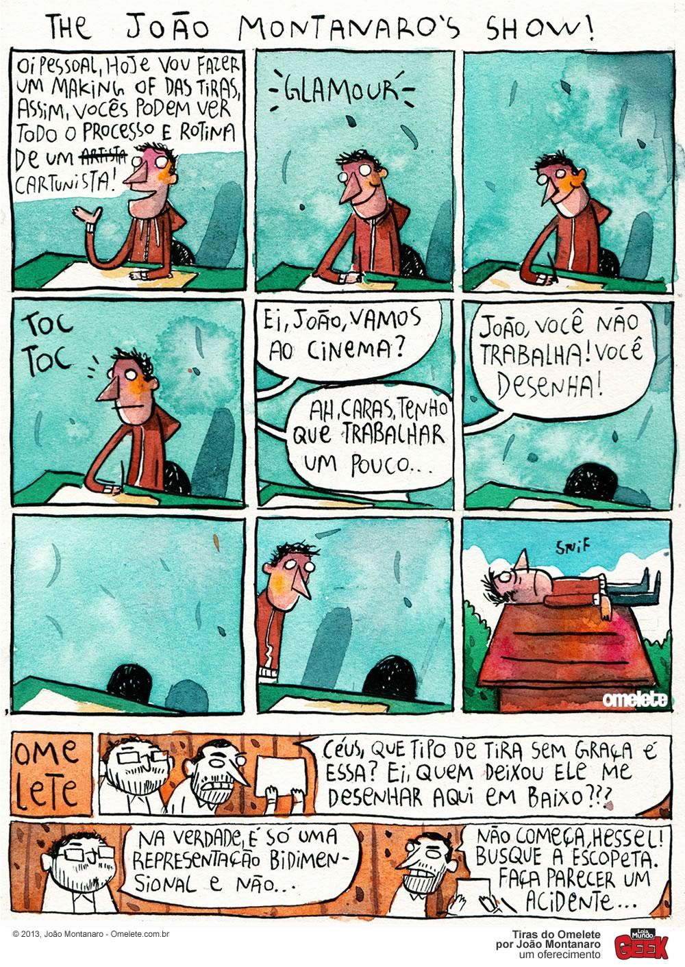 Os Tipos de Nerd, por João Montanaro
