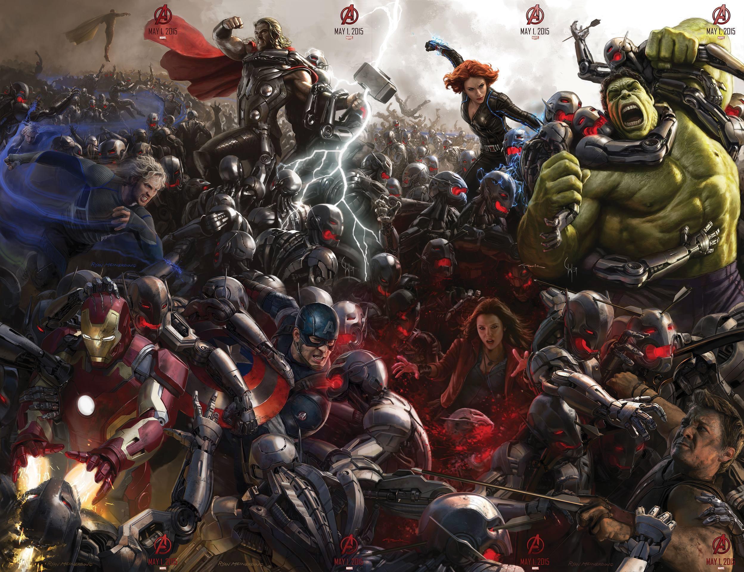 Os Vingadores Comic Con 2014 All