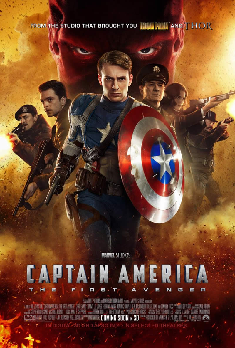 capitao america poster internacional 30jun2011