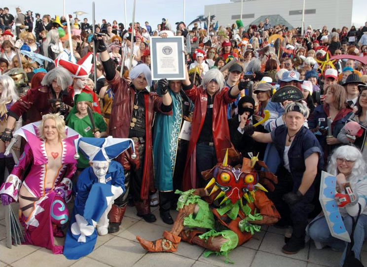 Novo Recorde Mundial de Cosplay no Guinness Bbc