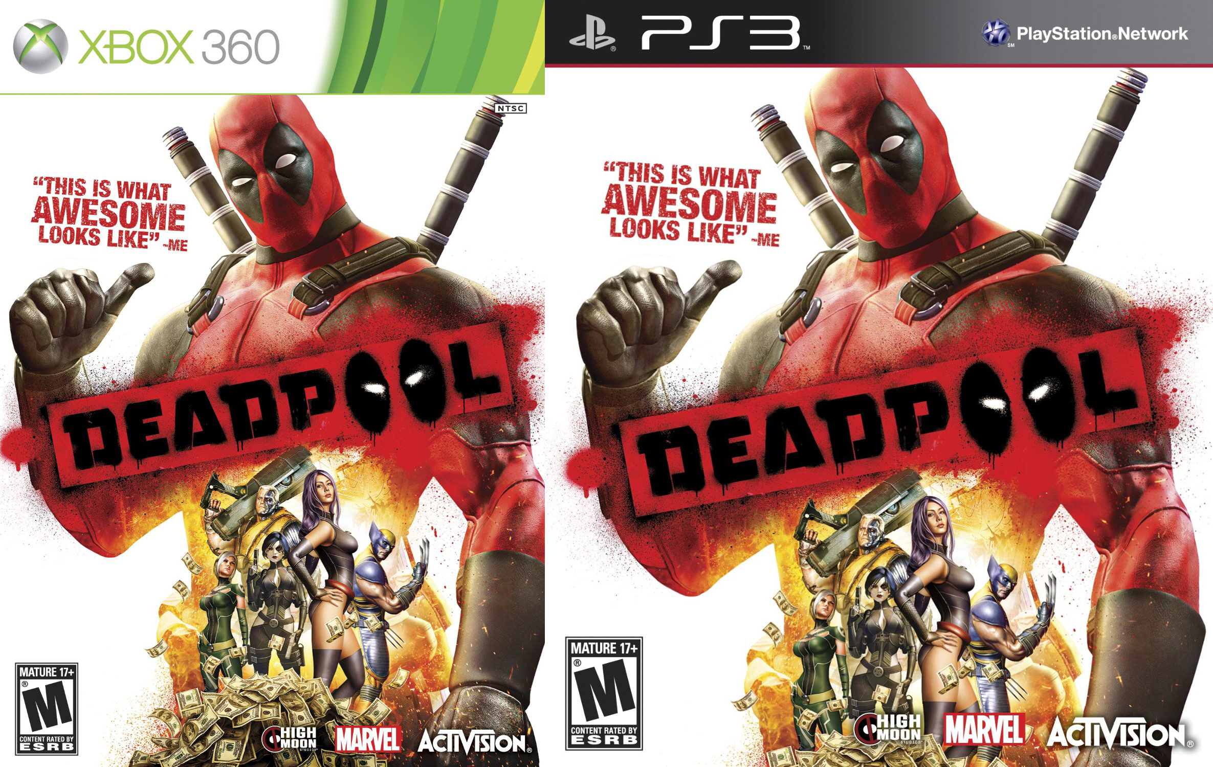 Ps3, Xbox 360 - Deadpool the game