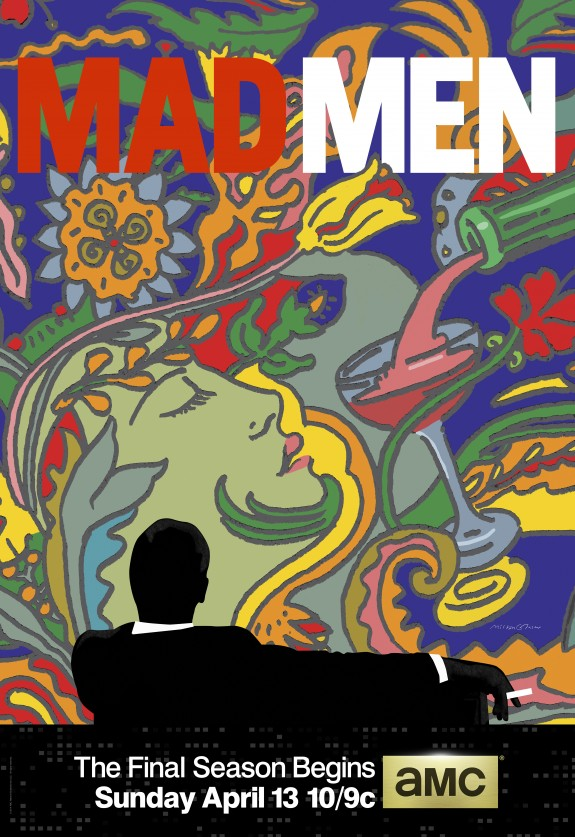Mad Men 7a temporada poster