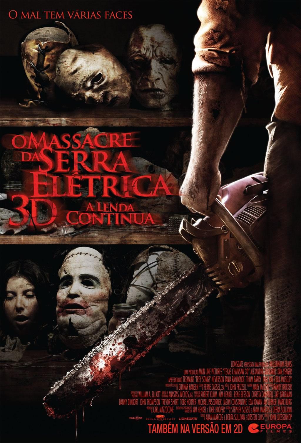 O Massacre da Serra Elétrica 3D (Dublado) BDRip RMVB