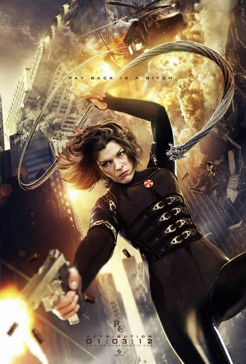 resident evil 5 retribution cartaz 06
