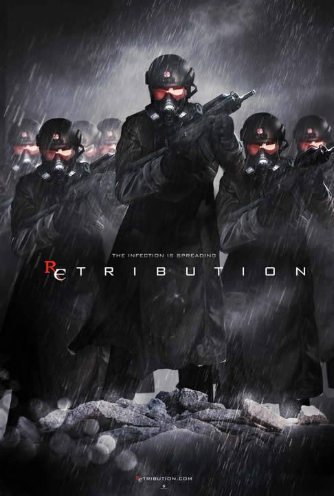 resident evil 5 retribution cartaz 13
