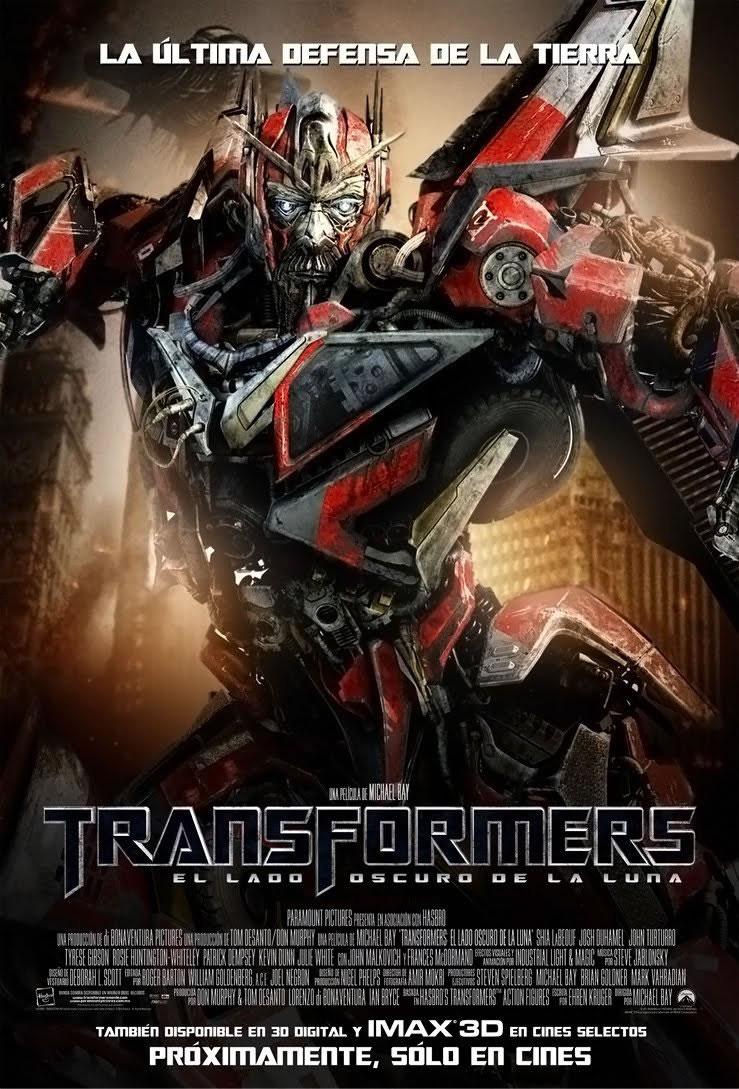 transformers 3 poster sentinel prime 23jun2011