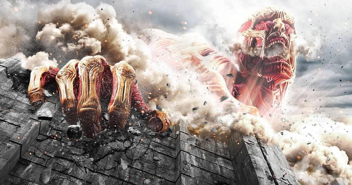 Ataque dos Titãs   Assista a uma cena inédita do filme que adapta o mangá