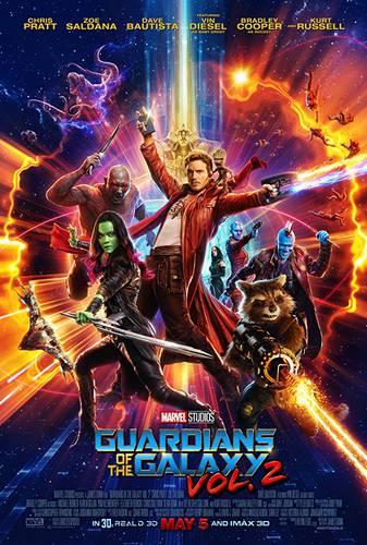 Cartaz de Guardiões da Galáxia Vol. 2