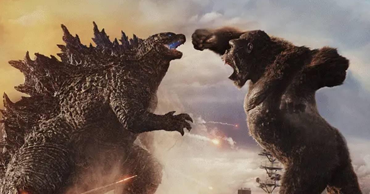 Primeiras reações de Godzilla vs Kong elogiam lutas entre os monstros