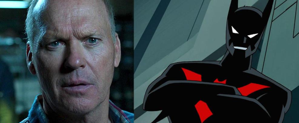 Michael Keaton em Homem-Aranha: De Volta ao Lar; Animação do Batman do Futuro