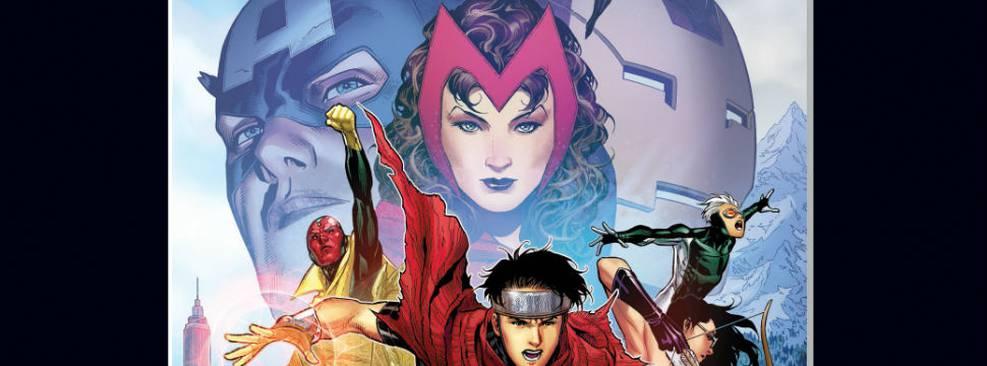 Capa da HQ Vingadores: A Cruzada das Crianças