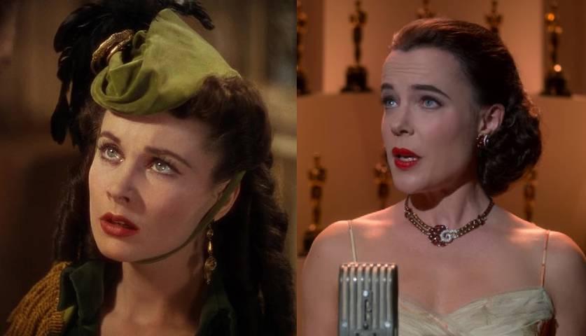 Vivien Leigh em ...E O Vento Levou/Katie McGuinness em Hollywood