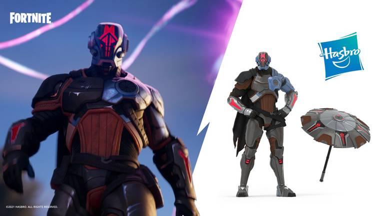 Hasbro lança action figure de Fundação, novo personagem de Fortnite