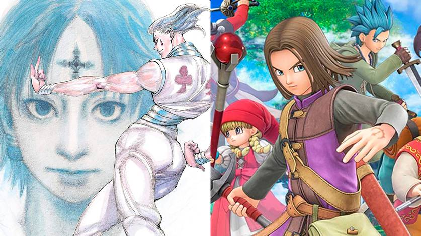 Hunter x Hunter e Dragon Quest XI
