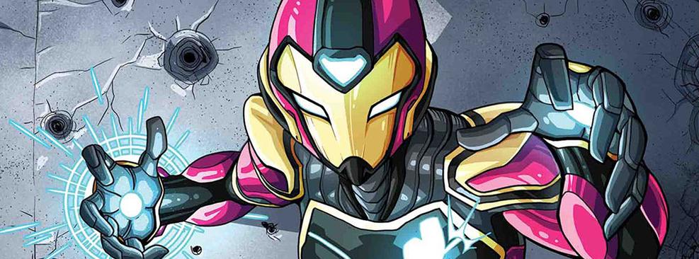 Marvel cancela revista da Coração de Ferro