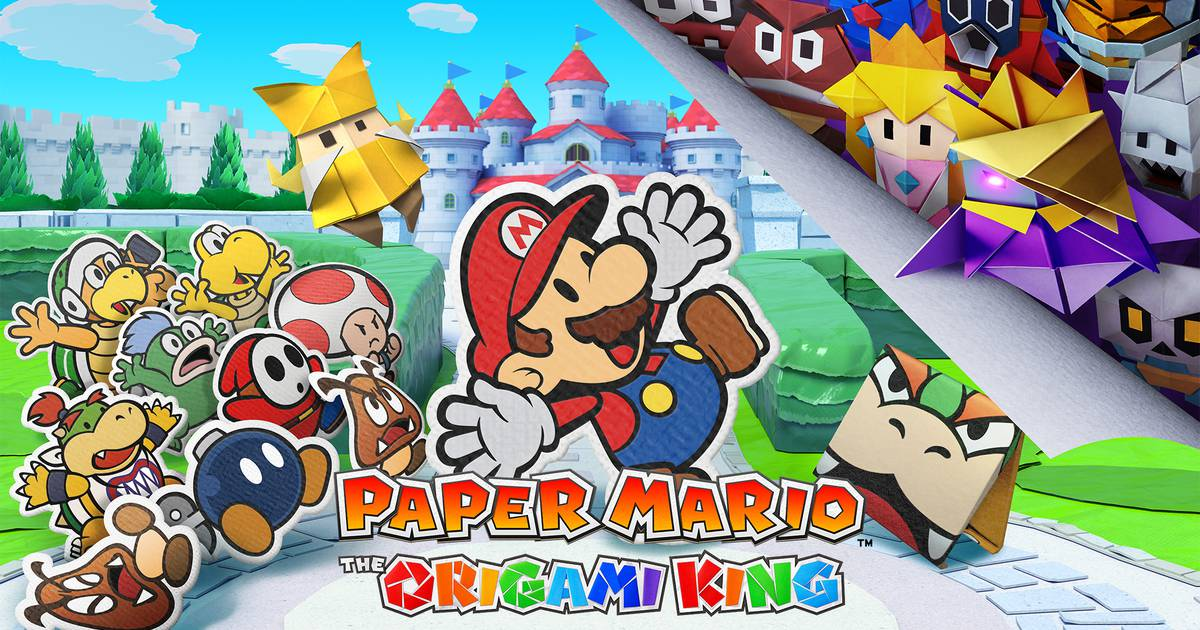 Paper Mario: The Origami King ganha cenas inéditas de gameplay; assista – The Enemy