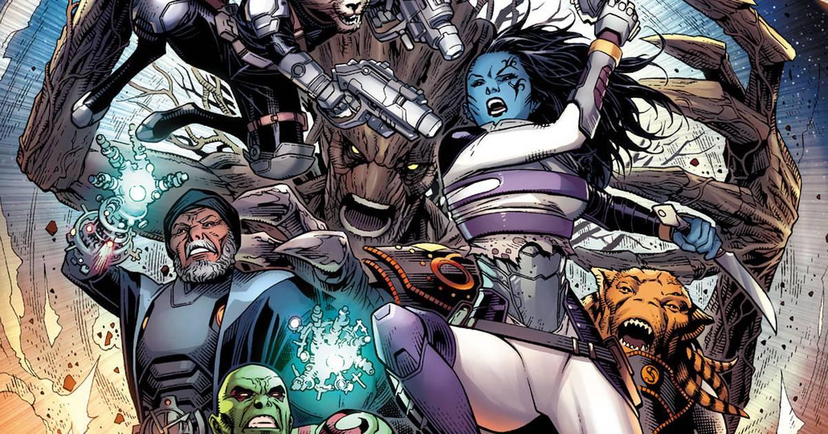 Guardians of the Infinity | Marvel anuncia HQ com gerações de Guardiões da Galáxia - veja