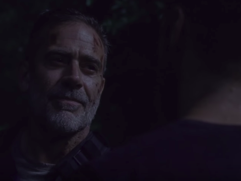 Negan em cena de The Walking Dead S10E03