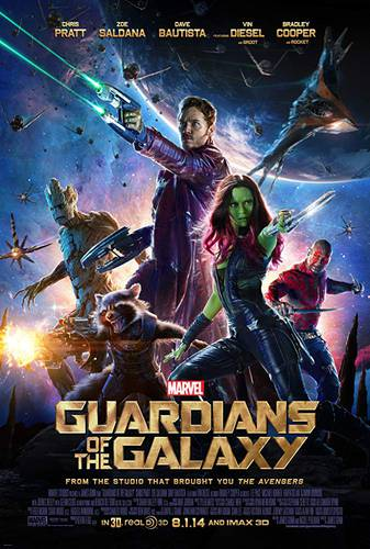 Cartaz de Guardiões da Galáxia