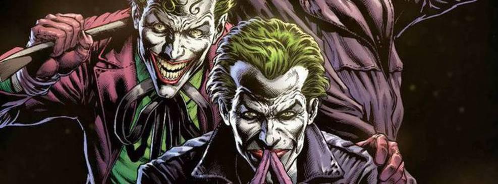 Capa da HQ Batman: Três Coringas