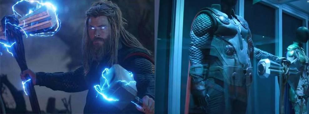 Vingadores: Ultimato | Vídeo mostra detalhes do figurino de Thor na vida real