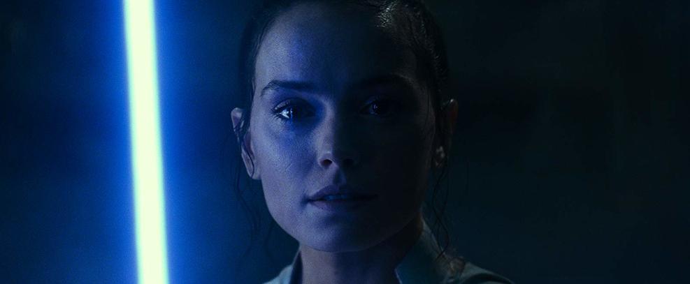 Daisy Ridley como Rey em Star Wars: A Ascensão Skywalker