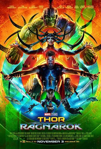 Cartaz de Thor: Ragnarok